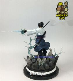 10H Uchiha Sasuke 1/8 Resin Figure Statue Model Naruto Figurine Limited Collect