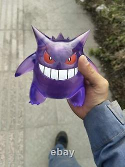 110 Anime Transparent Gengar Figure Toy Collection Cosplay Resin Model Statue