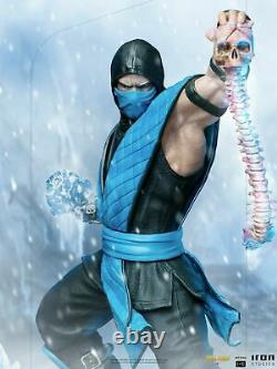 110 Iron Studios MORTAL42821-10 Mortal Kombat Sub-Zero Figure Statue Model Toy
