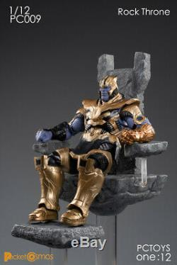 112 Scale PCTOYS PC009 The Rock Throne Figure Model Resin Stand Toy