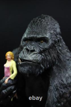 12 Film King Kong & Anne Skull Island Resin Bust Statue Model Figure Toys