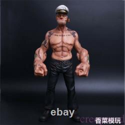 12 Headplay Popeye 1/6 FIGURE The Sailor Resin Statue TATTOO BODY Model