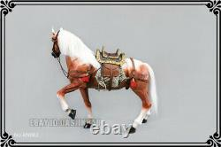 16 Scale Animal Resin Simulation Toy Battle Horse Figure 3 Color Model Statue