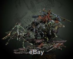 1/32 Resin Figure Model Kit Apocalypse Horsemen unpainted unassembled INCLUDE 4