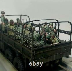 1/35 Scale Resin Figure Model Kit USMC Vietnam War (11 Figures)