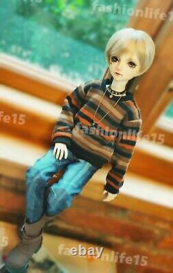 1/4 Bjd Doll Boy Resin Figures Body Model Free eyes + Face make up Toy Gifts