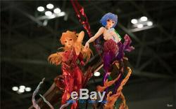 1/4 EVA ASUKA Unpainted Resin Figure Model Kits Anime Garage Kit In Stock Statue