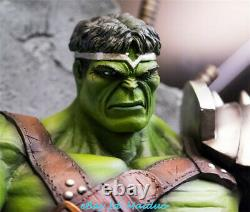 1/4 Hulk on Throne Statue Resin Model Kits GK Collections Figure Gifts New