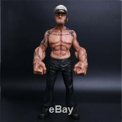 1/6 12 The Sailor Resin Statue Popeye Realistic TATTOO BODY Ver. FIGURE Model