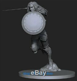 1/6 30cm Wonder Woman Figure Resin Model Kits Unpainted 3D Printing Garage Kit