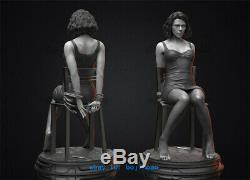 1/6 Black Widow Scarlett Resin Figure Unpainted Resin Model Kits Unassembled