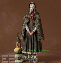 1/6 E2046 Bloodborne GK Figure White Unpainted Statue Figure Model In Stock