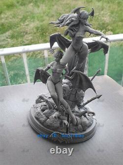 1/6 Morrigan Aensland Lilith Resin Figure Unpainted Resin Model Kits Unassembled