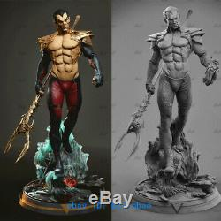 1/6 Phoenix Force Warrior Figure Statue Resin Model Kits Unpainted 3D Printing