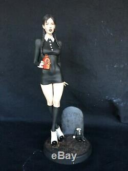 1/6 Resin Model Kit, Sexy action figure grown Wednesday Merlina