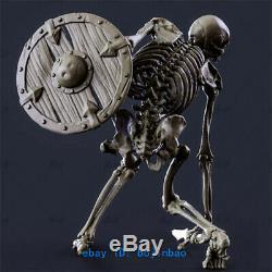 1/6 Scale Skull Warrior Figure Resin Model Kits Unpainted 3D Printing Garage Kit