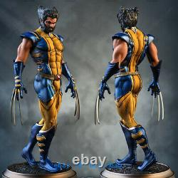 1/8 H26cm Wolverine Logan Figure Resin Model Kits Unpainted 3D Printing