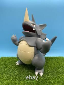 8x6x6 Anime Pokemon Rhydon Figure Toy Decoration Statue Model Cosplay Decor 110
