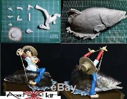 ANIME MODEL RESIN KIT 1/10 Tsurikichi Sanpei SAMPEI ON GIANT CARP