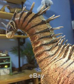 Amargasaurus cazaui Scene Statue Dinosaur Figure Animal Model Toy CollectorDecor