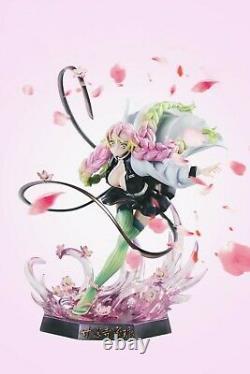 Anime Demon Slayer Kanroji Mitsuri Resin Action Figure Collectibles GK Model Toy