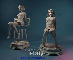 Black Widow Lucy 1/4 Figure Statue Resin Model Kits Unpainted 3D Printing 36cm