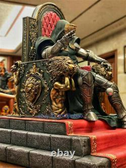 DOOM Resin Model Painted Statue Pre-order Custom-made Throne 1/4 Large