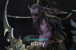 Demon Hunter Illidan Stormrage Resin Statue Painted Model 1/5 Scale Figure GK