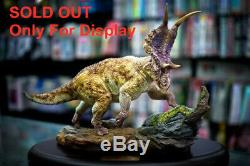 Diabloceratops Scene Statue Dinosaur Figure Animal Model Toy CollectorDecor Gift