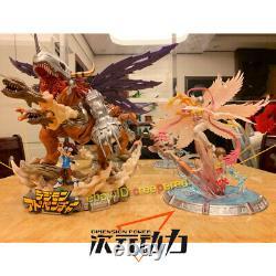 Digimon Adventure Angewomon Yagami Hikari Statue Painted Model Figure IN STOCK
