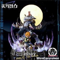 Digimon Adventure Ishida Yamato Garurumon Statue Painted Model Figure Anime 14