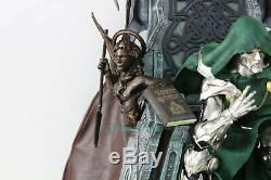 Doctor Doom 1/4 Scale Statue Throne Collectible Figure Model Resin GK In Stock