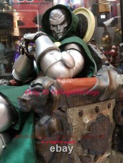 Doctor Doom In Throne Victor vo 1/4 Statue Figure Collectible 20 Recast Model