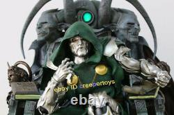 Doctor Doom in Throne 1/4 Resin Statue Resin Painted Model With Base Collectible