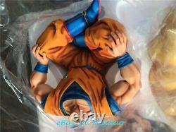Dragon Ball Z FC Son Goku Sitting Statue Resin Model Figure Class Original New