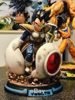 Dragon Ball Z Super Saiyan Majin Vegeta Spaceship GK Resin Statue Model Figure