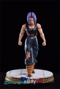 Dragon Ball Z Torankusu Trunks Painted Model Statue Resin Figure Led Light 1/6