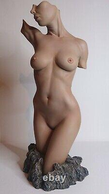 Erotic nude Female Torso colour edition Jaydee Models Sculpture Jonathan Dewar