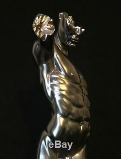 Erotic nude Male Torso Statue Jaydee Models Sculpture Jonathan Dewar