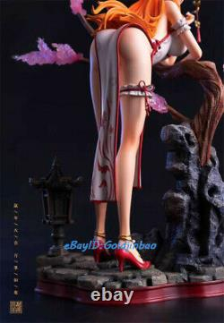 FOC One Piece Nami Figure Chinese Style Nami In cheongsam Resin Model In Stock