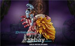 GP Studio Nightmare Luffy VS Oars Statue Model Painted Figure In Stock Anime GK