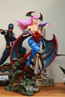 HMO Vampire Morrigan Aensland 1/4 Statue Resin Figure Model GK Collectibles New