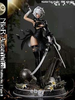 HUNTER FAN NieRAutomata 2B 1/6 Resin Figure Statue GK Cast Off Model Pre Order