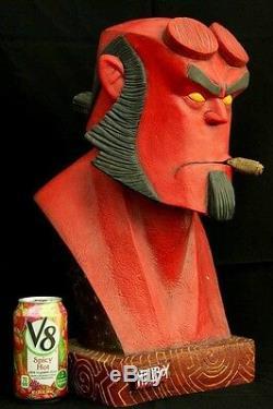 Hellboy Red Monkey 1/1 Bust Original Resin Figure Model Unpainted Kit