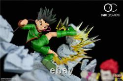 Hisoka Vs GONFREECSS Resin Statue Figure Model GK ONIRI Studio Presale 45cm
