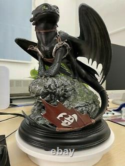 How to train your Dragon Toothless Big size Action figure model Statue Kids gift