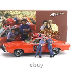 Hrn-model 1/43 Resin Replica Model 1969 Dodge Charger General Lee With Figures