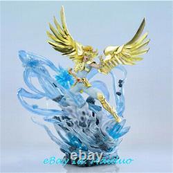 Hyoga Resin Figure Saint Seiya Statue GK Collection Resin Model Feather Studio