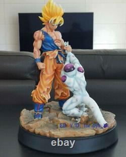 InStock Dragon Ball Figurine 1/6 Son Goku Frieza Model Resin Statue 16''H Figure