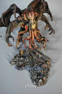 In Stock Cthulhu Painted Resin GK Model 7'' Sculpture Statue Collection Figurine